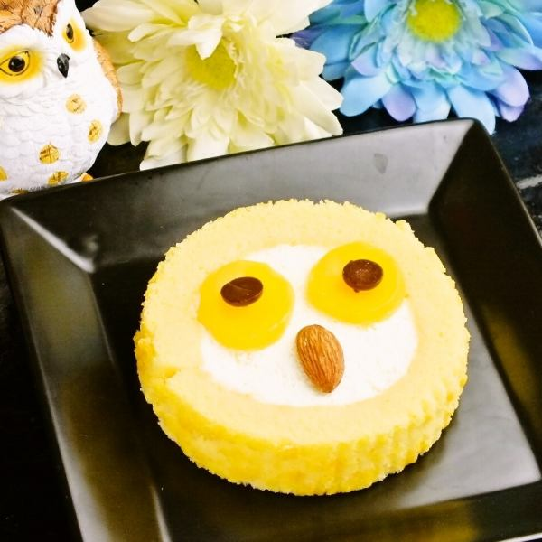 Owl's Mark is cute ♪ «Owl Cake ◆ Plain»