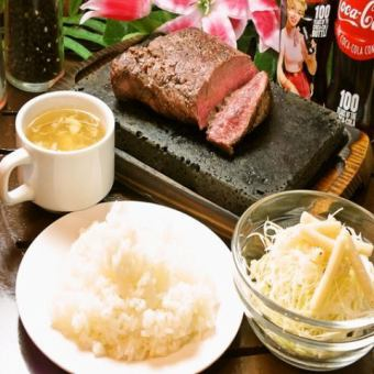 【All Time】 All you can eat rice, soup, salad