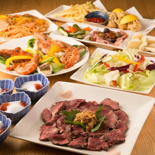 本格的な洋食が楽しめる! 5000円コース