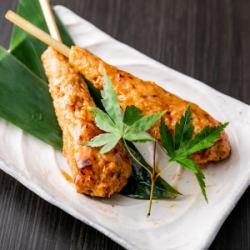 Tsukune(2)盐和酱汁
