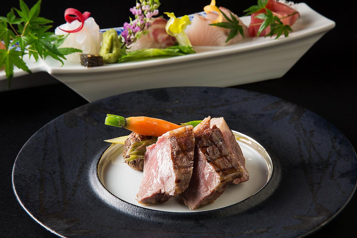 肉類和海鮮......