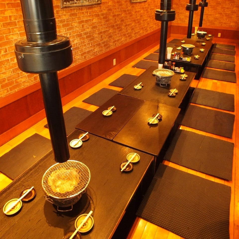 Recommended for various banquets ♪ Digging tatami banquet seat up to 20 people!