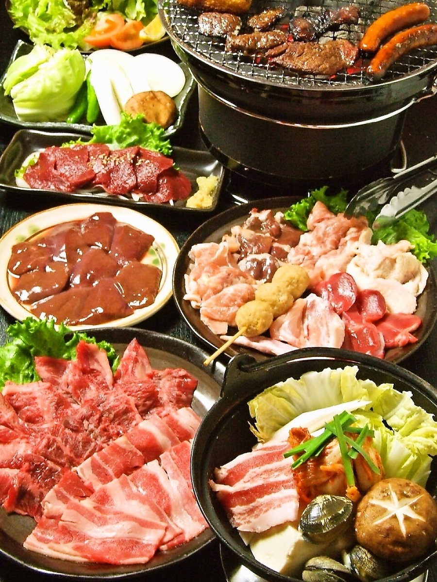 Full stomach Jr. course 9 items 2100 yen !!