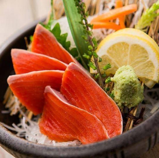 三文魚鮭魚生魚片