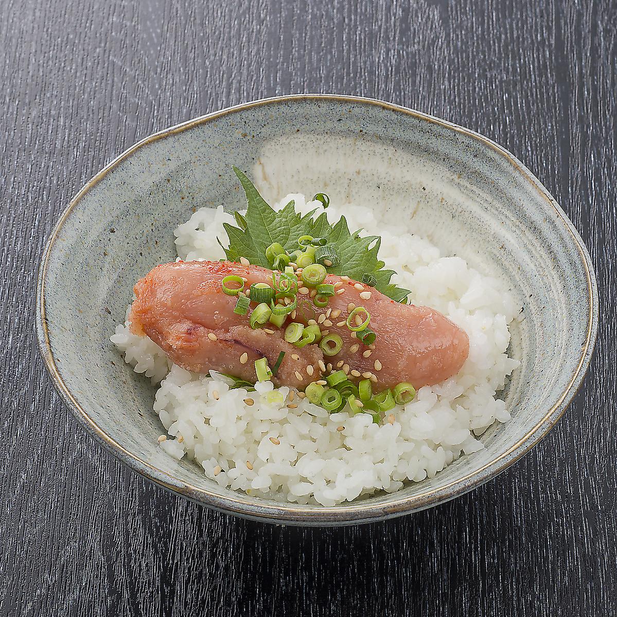 一體化!Mentaiko米飯