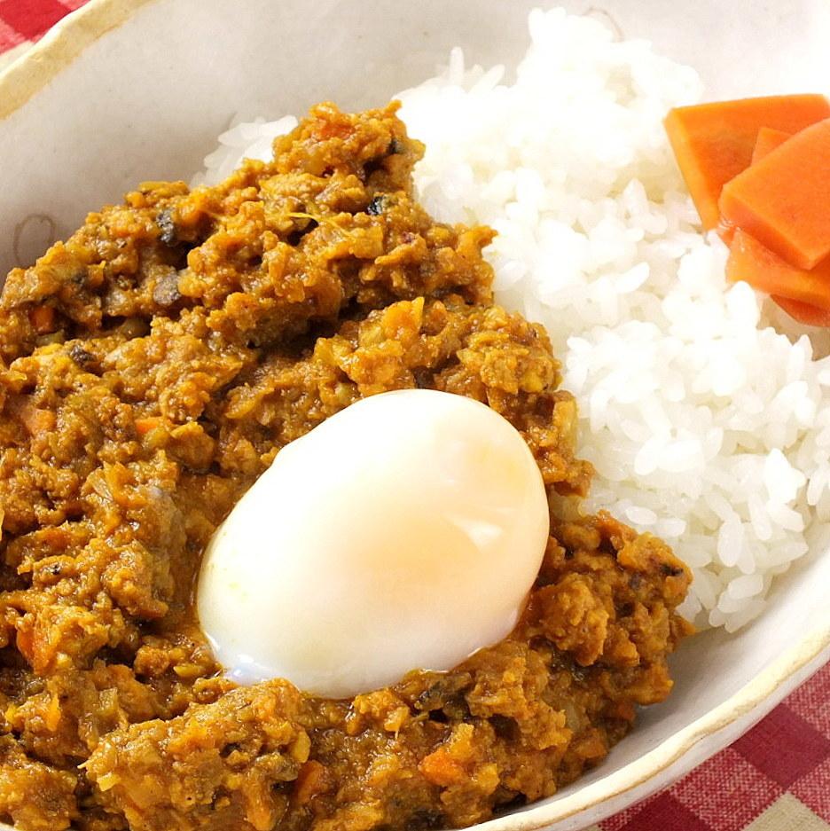 Keema curry (medium spicy) ※ I have a warm ball!