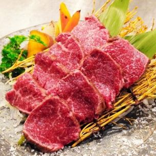 <熊本県産> 馬肉ヒレステーキ(100g)