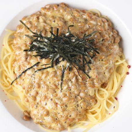 納豆スパゲッティ(S)