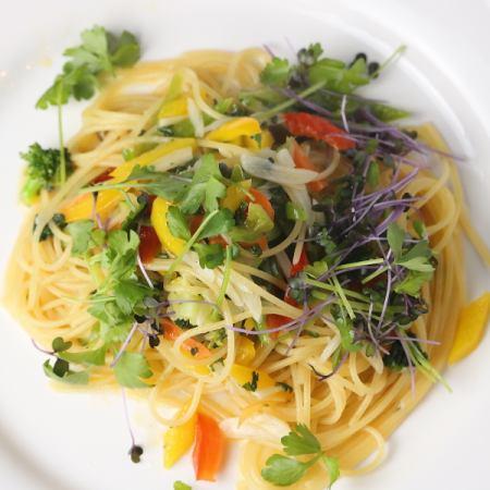 野菜のペペロンチーノ(S)