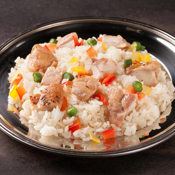 清酒蔬菜雞肉飯