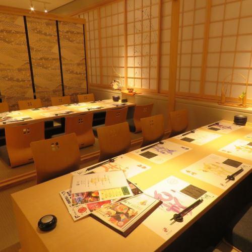 【8~16名様個室】 こだわりの食材を使用したお料理や、厳選された日本酒など、種類豊富にご用意致しております。