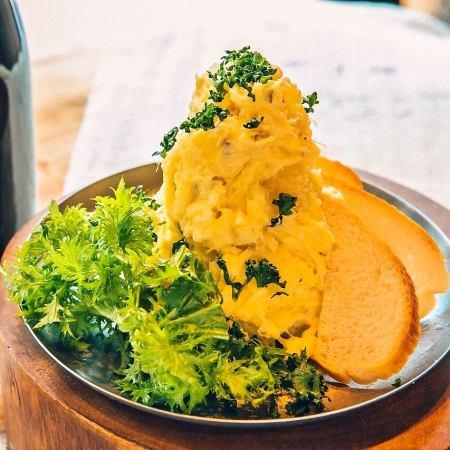 鱈のポテトサラダ