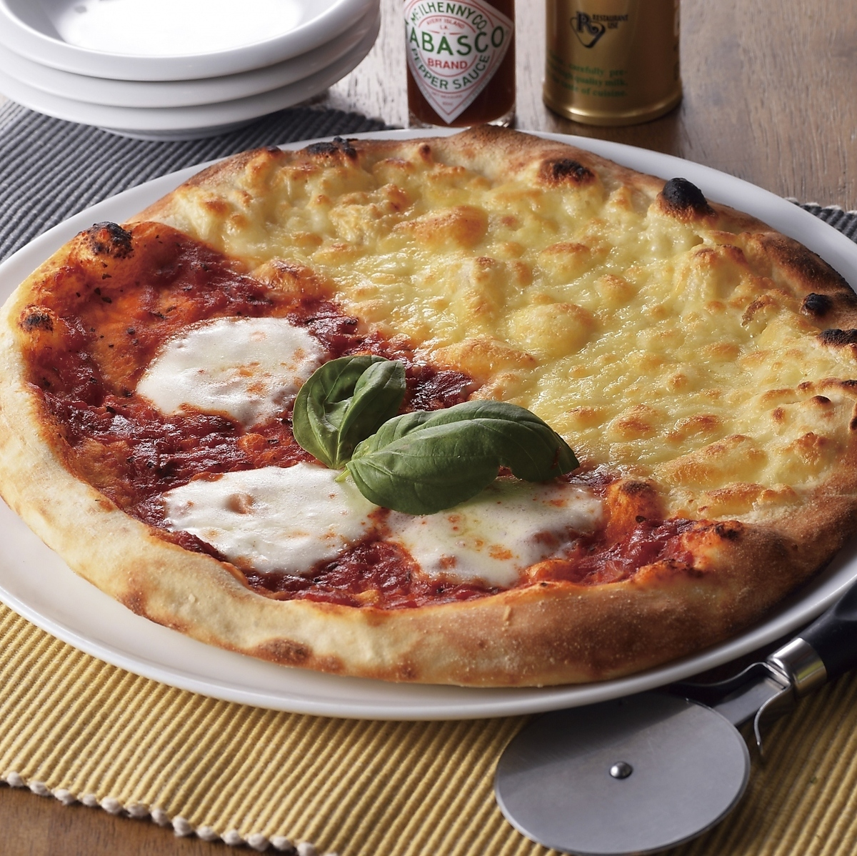 Margherita和北海道奶酪