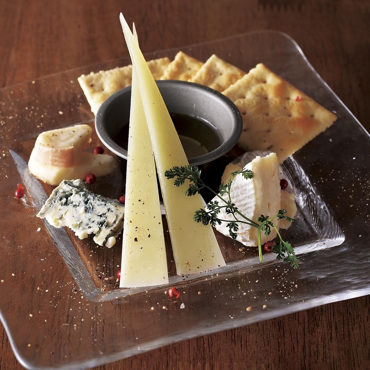 什錦意大利和北海道奶酪