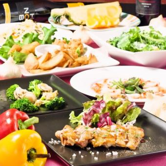 New 4/1 ~ 【WAIWAI course】 Loose banquet 3 H 120 min with unlimited drink 4000 yen