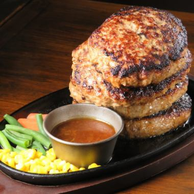 Challenge the Towerberg 3 pounds 【Weekday lunch limited to 2 people】