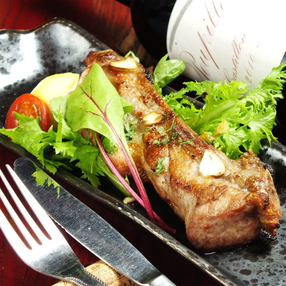 ★ 【Menu you want to eat only this item】 Superb! Spare rib oven grill