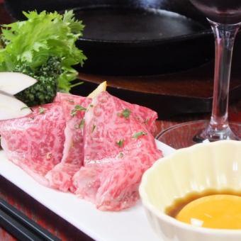 黑色和牛牛肉鐵板壽喜燒風格