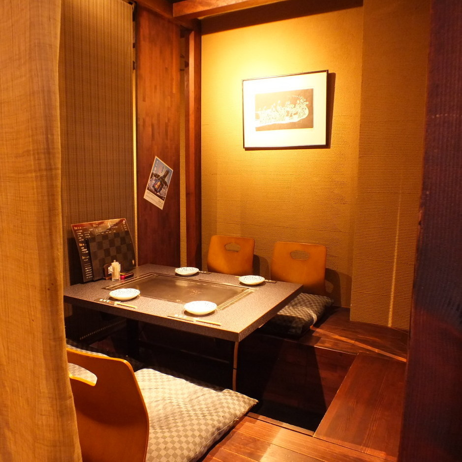 "The private room is also available for ""Kyo Steel Dining Waso"" of our 2F sister shop ★ It is possible to use from 2 to 25 people ♪ ※ Kyoto Meat Bar Izakaya Wasso and Kei Teppan Dining The menu content is different at here.Please give us your understanding."