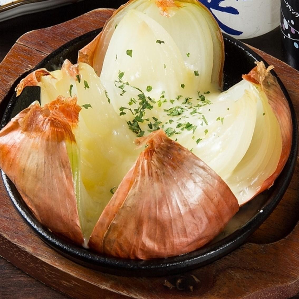 來自淡路島的蒸洋蔥