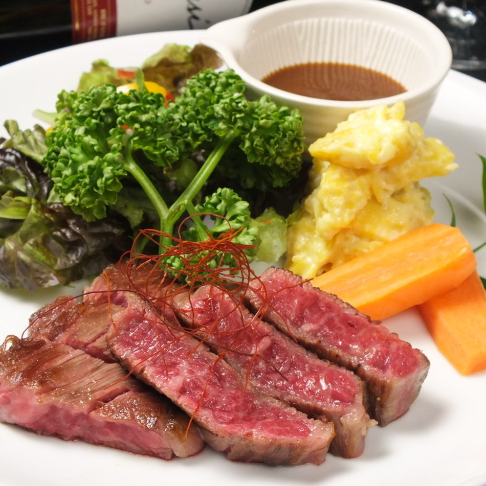 Kuroge Wagyu beef rib steak 150 g