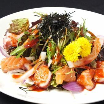 ピリ辛海鮮サラダ