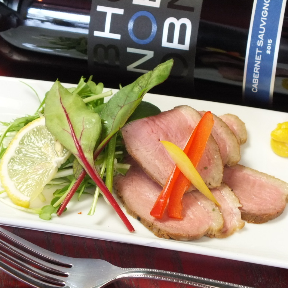Special selection duck loin