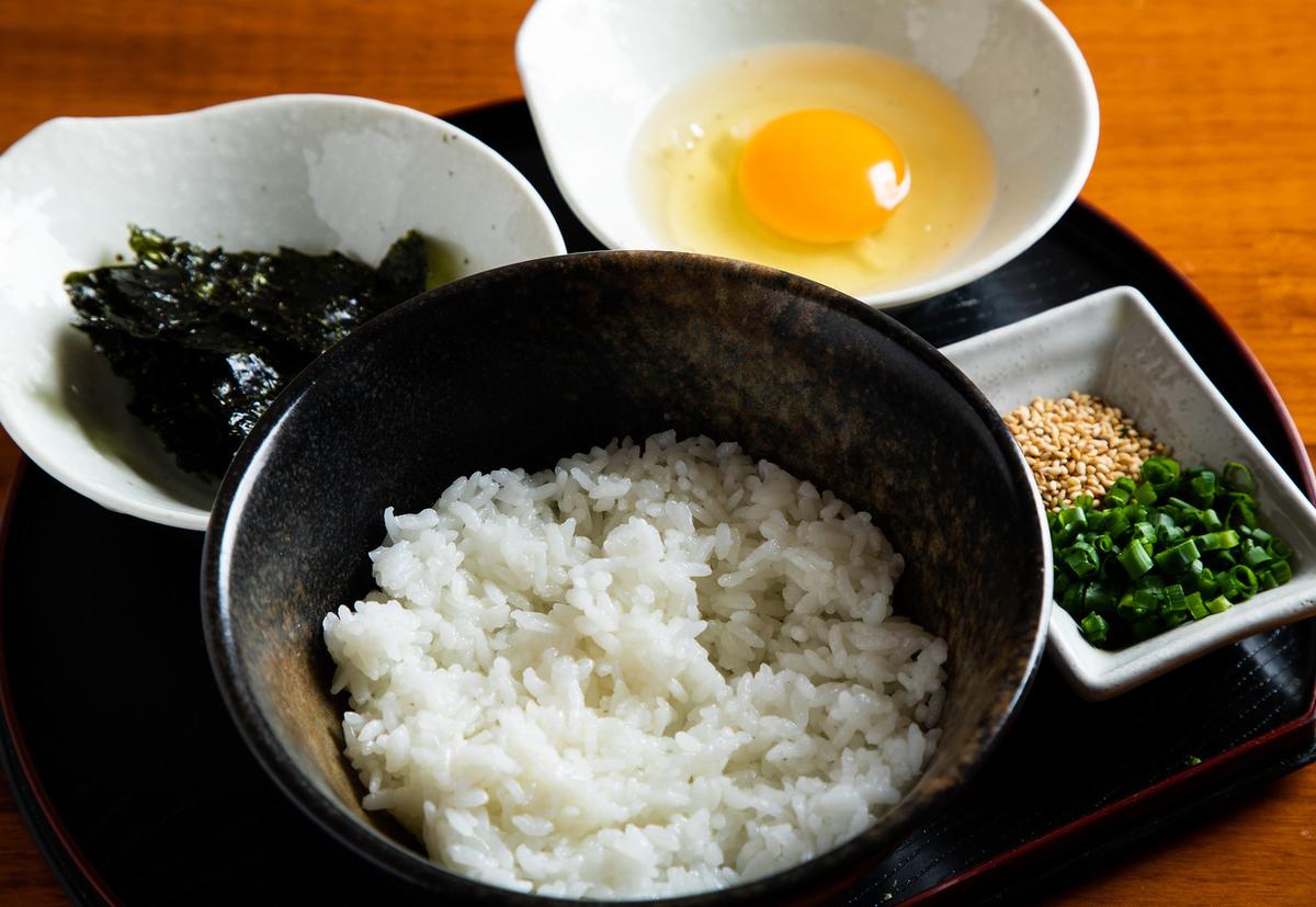 Tamago kagoku with Korean paste