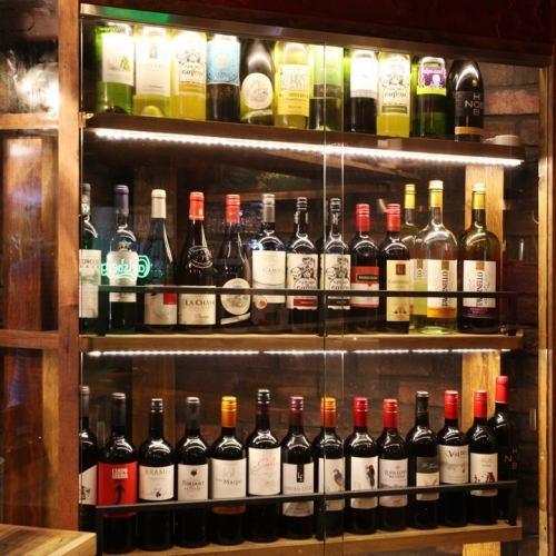 50種瓶裝葡萄酒!