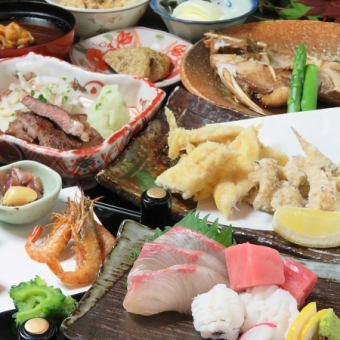 喝牛奶90分鐘【牛牛排·Eruiko兒童天婦羅·天婦羅,煮等...宴會套餐】所有9項6000日元