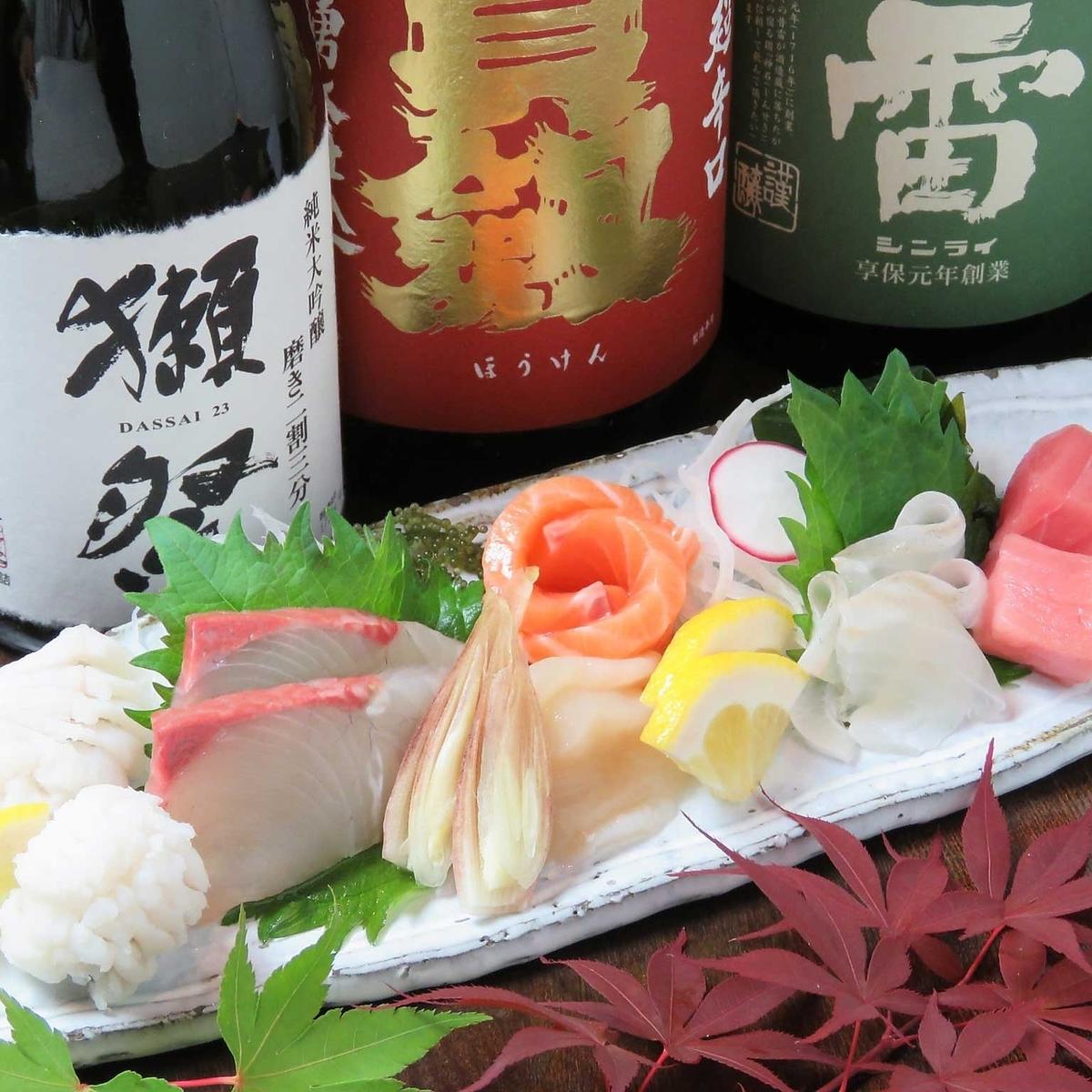 Cook using Setouchi production area