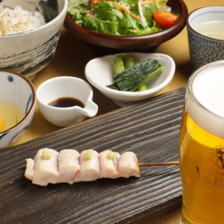 【For various banquets!】 Full of charm of Torihisa! Sukiyaki Yakitori course to taste meals of the next day (13 items in total) 3250 yen
