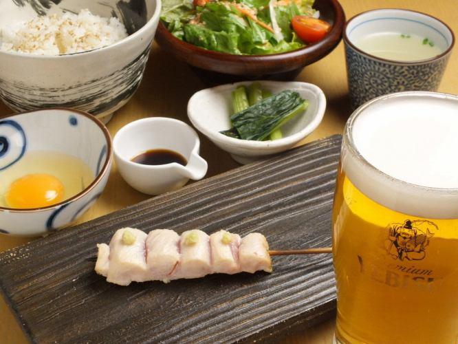 【각종 연회】 鳥久의 매력 가득! 마감 식사까지 맛볼 충만 꼬치 구이 코스 (총 13 종) 3250 엔