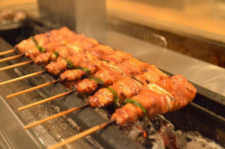 【With various scenes!】 Okami yakitori half course (9 items in total) leaving it easy to enjoy Torigauru course 1800 yen