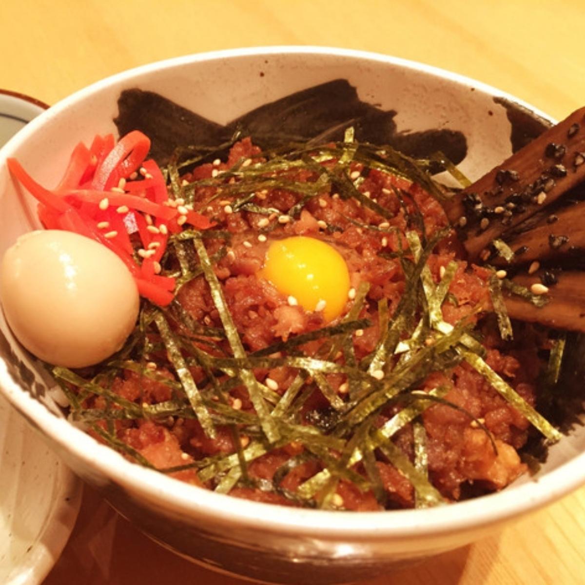 そぼろご飯 (대)