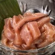 手工制作的鱿鱼/章鱼芥末