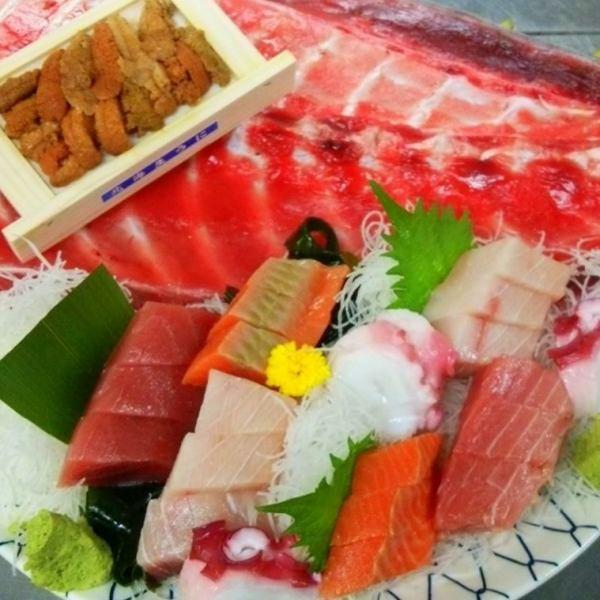 【厨师!】渔夫什锦生鱼片