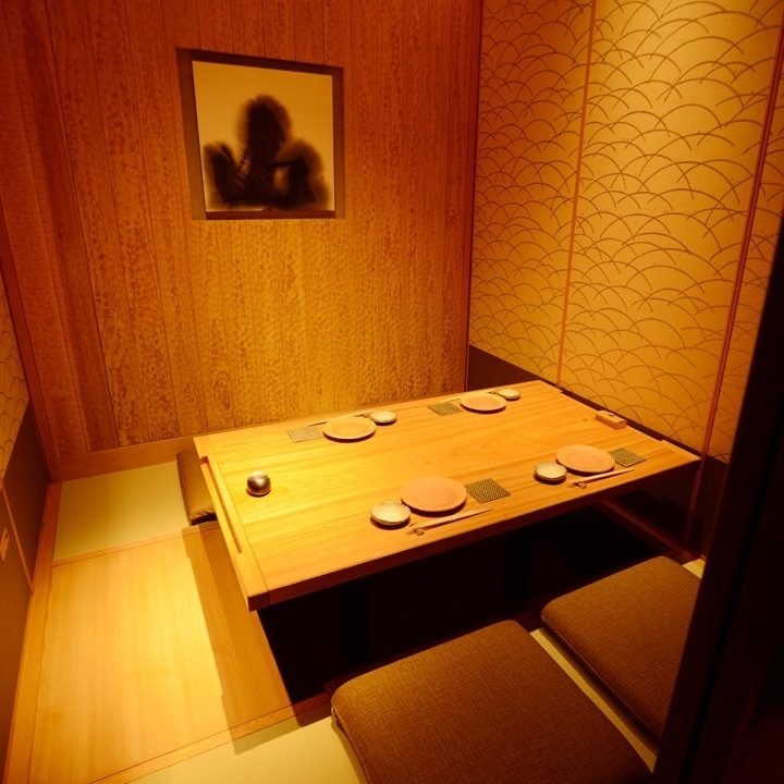 A relaxing relaxing dugout tatami room.