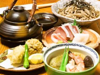季節の旬の食材を使用したお料理をお楽しみ頂けます。