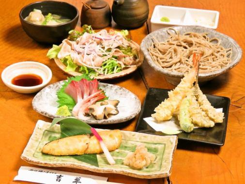 【各種宴会に】毎月変わる旬の食材。本格和食コースを2時間飲み放題付全8品4000円~。2時間半飲放も可能