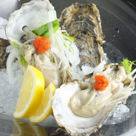 【Limited time】 carefully selected raw oysters