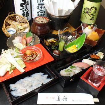【2种饮料所有你可以喝所有8项】虎涮锅套餐⇒10000日元(含税)