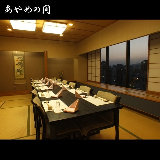 During the Ayame (Chiba) It is a calming making which can be used for up to 20 people, from entertaining, it is a private room for families.It is a perfect private room which you can see overlooking the night view from Hotel 11F.