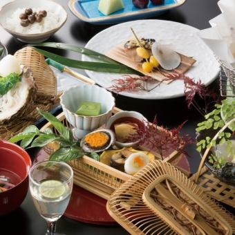 Cooking chief special! Month full-scale Japanese-style seat 6000 yen course (tax and service charge included 7128 yen)