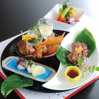 【Western style】 Children's meal 2000 yen (tax and service charge included 2376 yen) (7 items in total)
