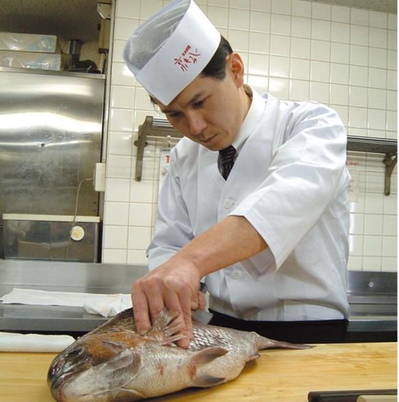 Chef Yokota Hideji's skill and heart