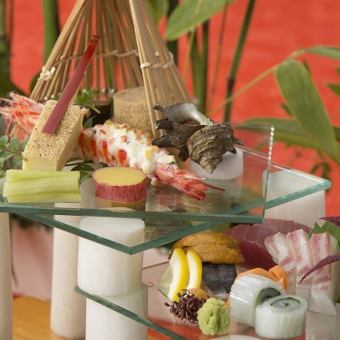 【120 minutes with unlimited drinks】 November chef special selection! Full-fledged Japanese seat \ 10500 → \ 10000 course