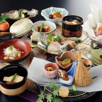 【1 most popular course】 November chef special premium full-fledged Japanese-style dinner with unlimited drinks \ 8000 → \ 7500 course