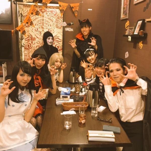 イベントは思いっきりスタッフも共に楽しむ!!31日は【saiの日】何をやるかはその時次第!!Halloween!!ラーメン!!ホットドッグ!!マリオ!?