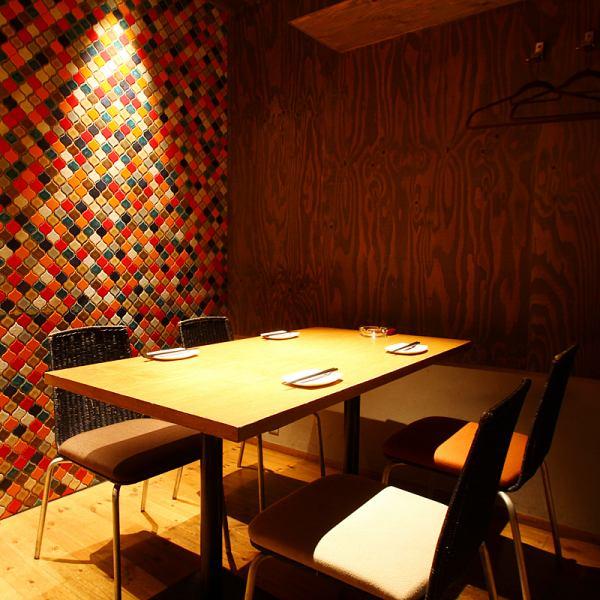 名鉄JRも岐阜駅すぐ!全席個室席!和×イタリアンベースの創作居酒屋料理が楽しめる。